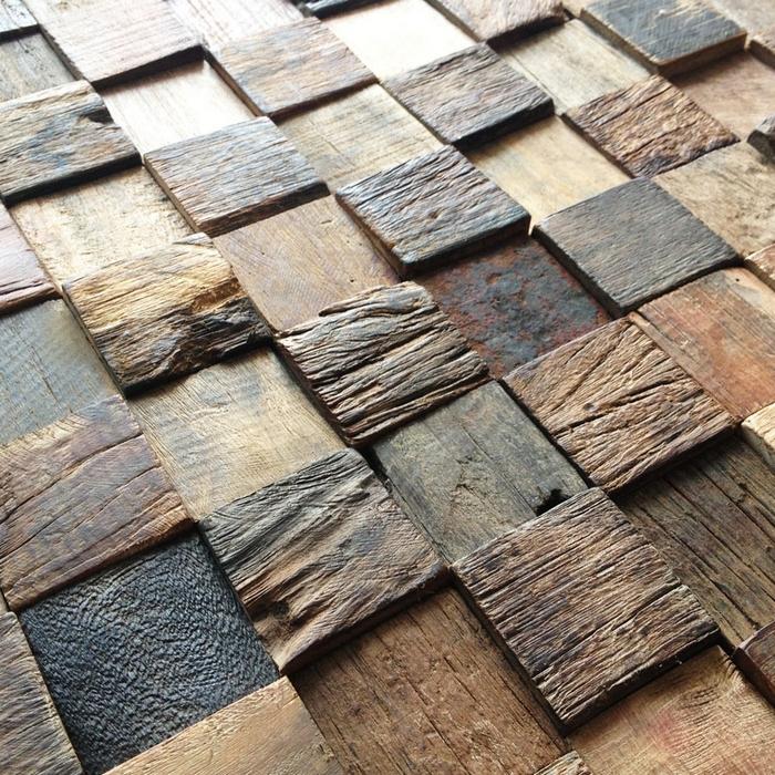 pattern rustic log wood mosaic tile kitchen backsplash tile rustic kitchen backsplash tile