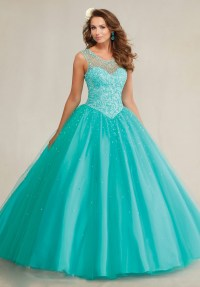 Puffy Mint Green Royal Blue Quinceanera Dresses 2016 Top ...