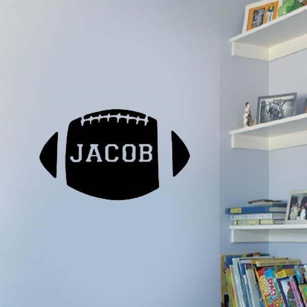 custom football wall stickers rugby boys bedroom wall decals boys bedroom wall decals sweetest occasion sweetest
