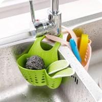 1PC Kitchen Sink Sponge Holder Bathroom Soap Hanging ...