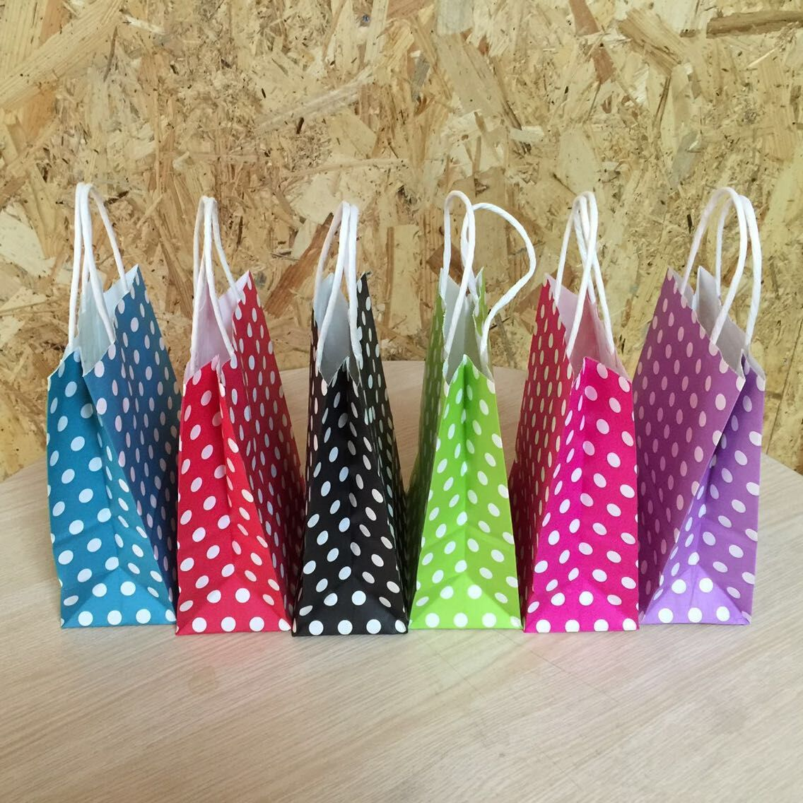 Paper Gift Bags Wholesale Online Buy Wholesale Polka Dot Gift Bag From China Polka
