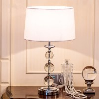 Fashion crystal table lamps for bedroom luxury crystal