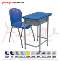 student table and chair 2 piece set single seater desk and ...