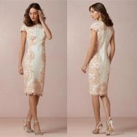 Mother Of The Bride Lace Dresses Knee Length - High Cut ...