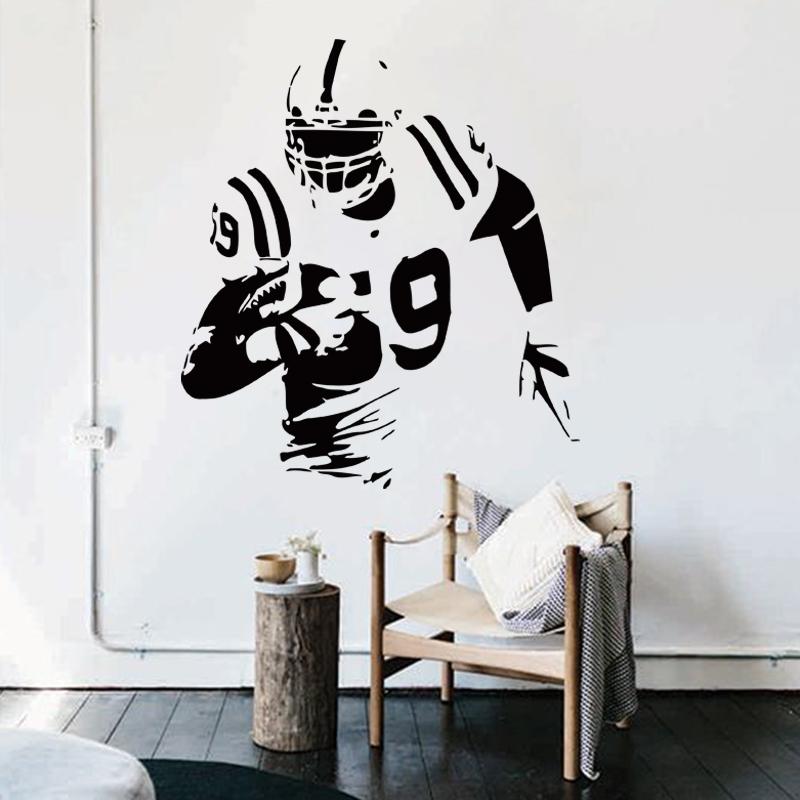 Tom Brady Wallpaper Quote Achetez En Gros Rugby Wall Sticker En Ligne 224 Des