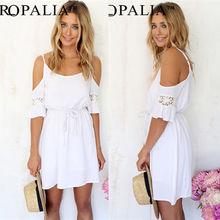Vestidos de hippie Aliexpress branco