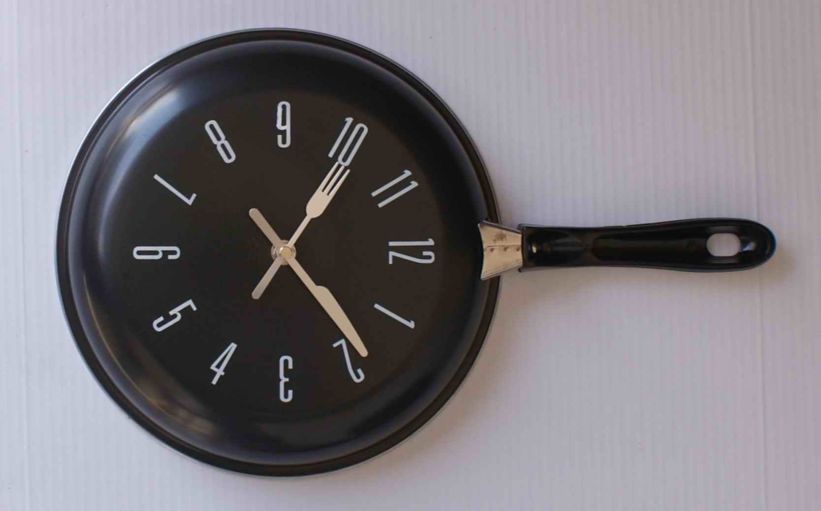 Modern Kitchen Clocks Modern Fork And Spoon Kitchen Wall Clock In Wall Clocks