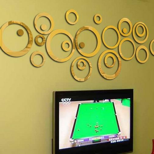 decor mirror wall stickers removable decals decorative switch stickers mirror sticker modern wall decor ideas light room design