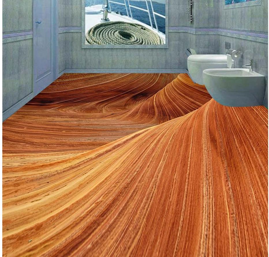 3d Stereoscopic Mural Wallpaper Aliexpress Com Buy 3d Stereoscopic Desert Floor 3d