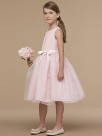 PINK FLOWER GIRL DRESSES - Sanmaz Kones