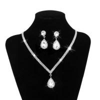 Silver Jewelry Crystal Jewelry Wedding Accessories Jewelry ...