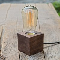 wood desk lamp vintage table lamps for bedroom creative ...