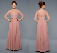 Formal dress photo: Long sleeve formal dresses plus size