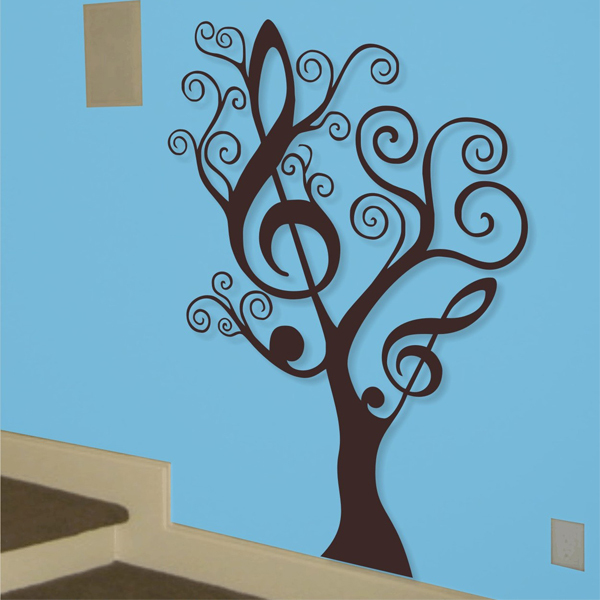 removable music tree wall art vinyl decals wall stickers home pics photos decal vinyl wall decals