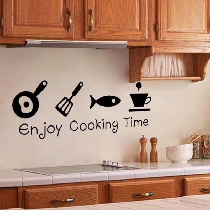 aliexpress buy design creative diy wall stickers kitchen personalised kitchen wall sticker decals