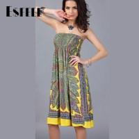 Sexy Plus Size Strapless Summer Dresses - Hot Girls Wallpaper