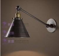 Vintage Industrial Loft Swing Arm Wall Sconce Retro ...