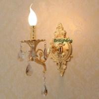 bedside LED Wall Lights Vanity Light Luxury gold wall lamp ...