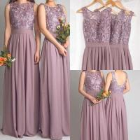 Lavender Lace Bridesmaid Dress | www.imgkid.com - The ...