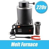 220 Voltage and 2KG Capacity Gold Electric Melting ...