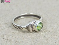 NEW Mako Mermaid Ring H2O Just Add Water Moon Ring Mermaid ...