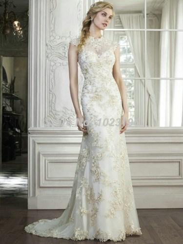modest wedding dress Unique Modest Wedding Dress Lace