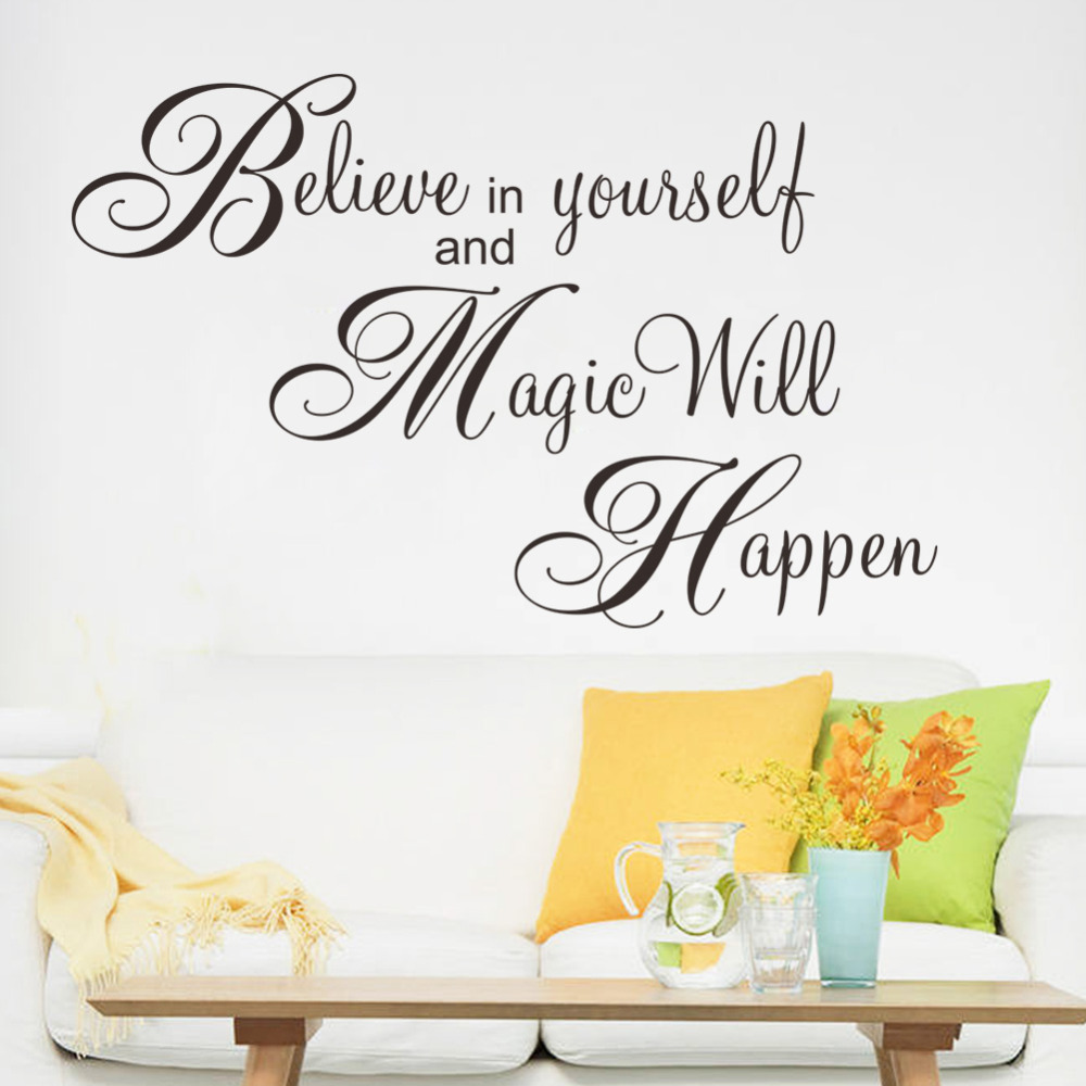 happen inspiration quote wall sticker decal home decor wallpaper wall wallpaper wall stickers colour options interiorinstyle wall