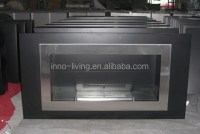 Stainless Steel Fireplace Insert,Ethanol Fuel - Buy ...