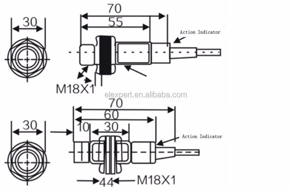 capacitance proximity switch circuit