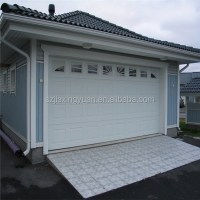 Color Steel Sectional Automatic Used Garage Doors Sale ...