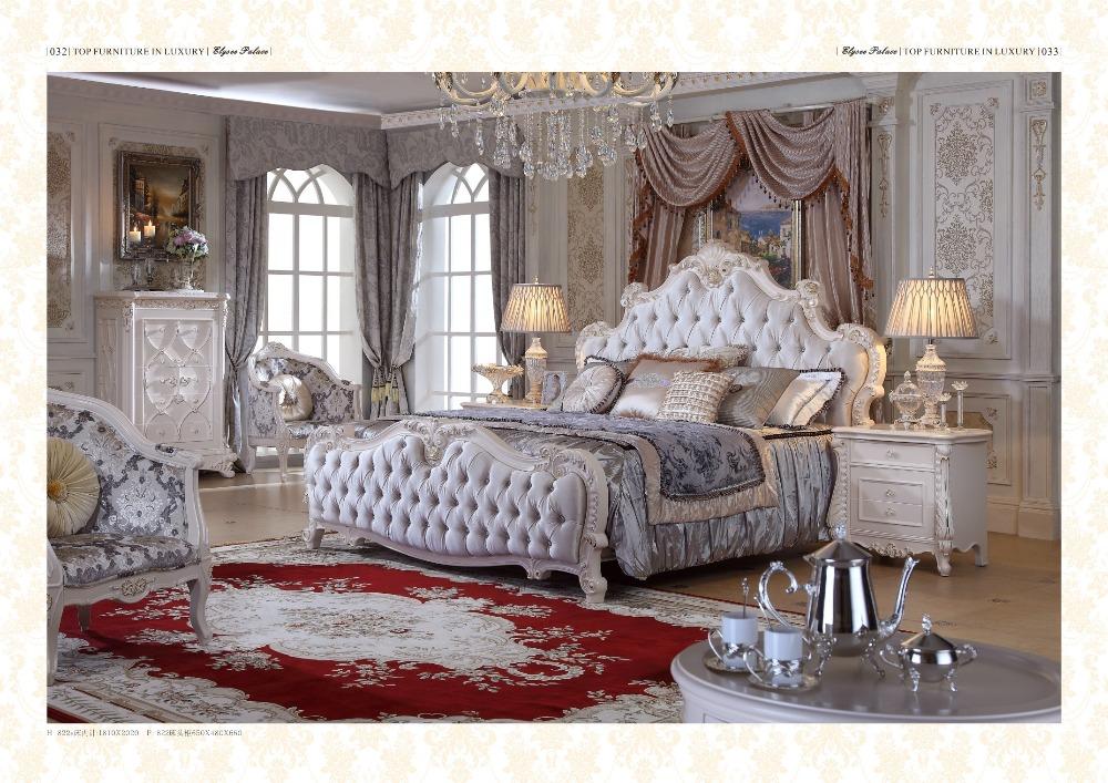 Panel Modern Romantic Bedroom Set Furniture