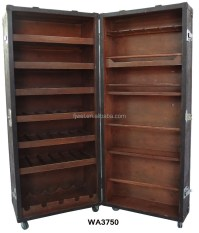 Antique Retro Rolling Bar Cabinet - Buy Corner Bar Cabinet ...