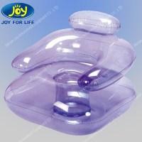 Transparent gonflable chaise salon flottant, L'eau ...