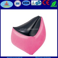 Flocked Inflatable Triangle Chair - Buy Inflatable ...