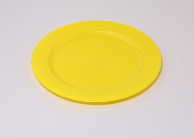 Et 00 Colored Disposable Plastic Dinner Round Plate Buy