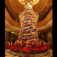 Large Artificial Lighted Indoor Christmas Tree Decoration ...