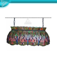 Game Room Pool Table Light Stained Glass - Buy Pool Table ...