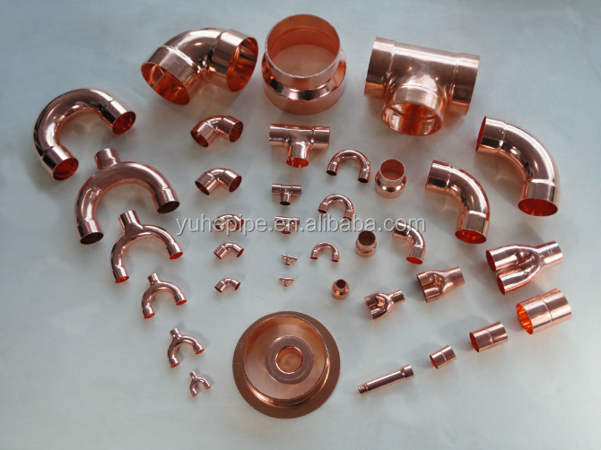 J9004 Solder Copper Pipe Fitting