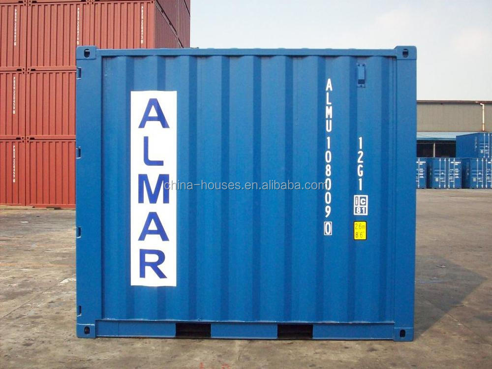 40gp Cimc Iso Dry Cargo Shipping Container In Shanghai