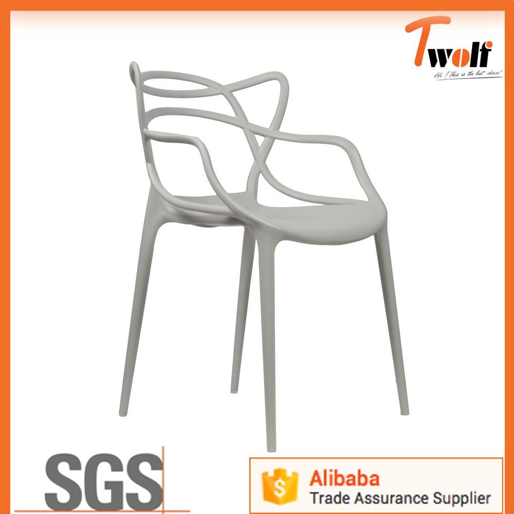 Italien Scandinave Style Celebre Replique Meubles Moderne En Plastique Chaise Design T833