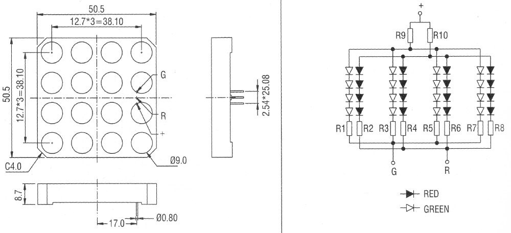 lead bi color led or two separate leds auto electrical wiring diagram