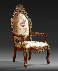 Classic Victorian Carved Wood Hall Chair,Elegant English ...