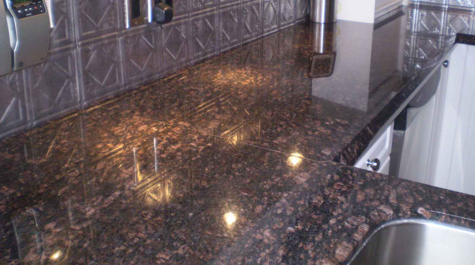 Standard Granite Countertop Thickness Tan Brown 3cm Granite Countertops Ogee And Demi Bullnose
