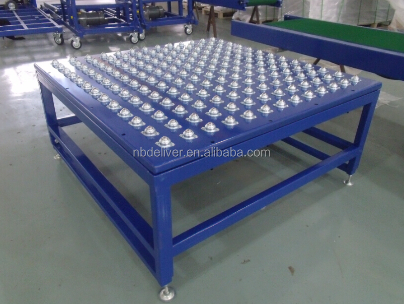 Gravity Roller Conveyor Ball Transfer Table