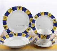 Fine China Dinnerware,White Porcelain Dinnerware - Buy ...