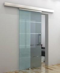 Sliding Bathroom Glass Door / Sliding Frameless Tempered ...