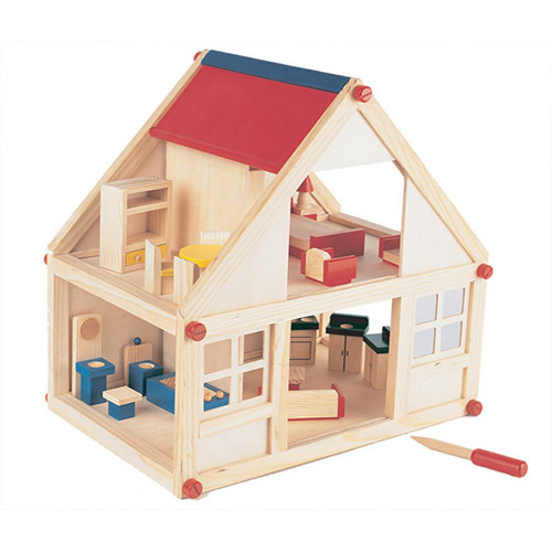 Pine Wood Furniture Quality Pine Crafter American Made Quality Furniture Children Diy 2 Storey Wooden Toy