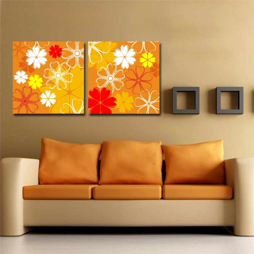 Cheap Canvas Pictures Wholesale Abstract Geometric Pattern Oil Painting Print On