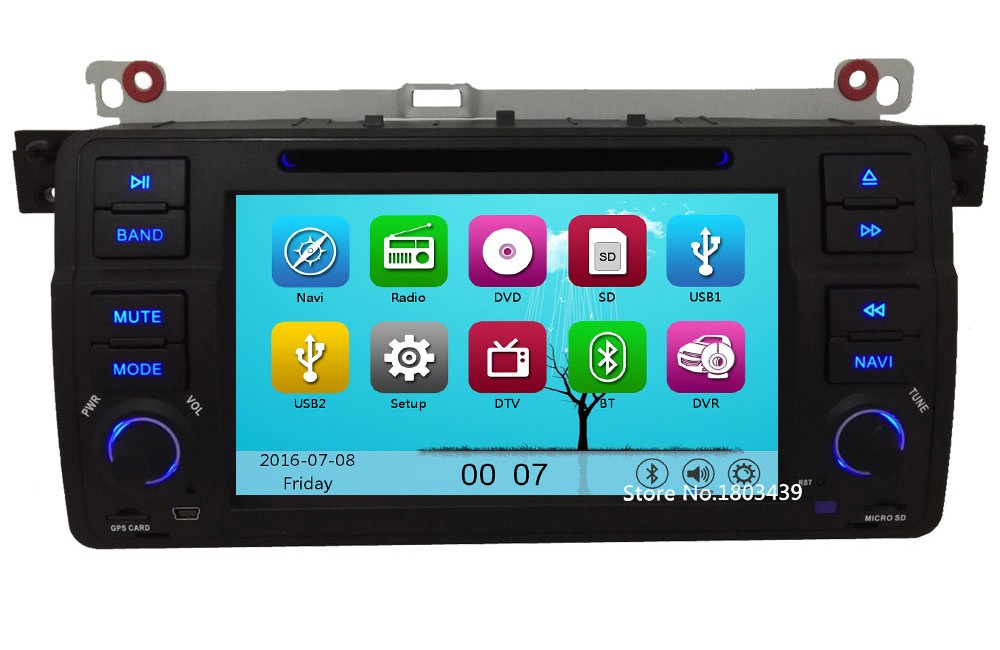 MTK MT3360 Wince 60 Car DVD Multimedia Player Radio Stereo Screen