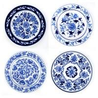 Blue White Decorative Plates Promotion-Shop for ...